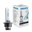 Philips Xenon WhiteVision D2s 85122WHVC1 LED effect